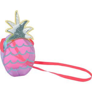 Billieblush Pineapple Print Transparent Bag