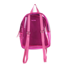 Load image into Gallery viewer, Billieblush Transparent Backpack with Sequin front
