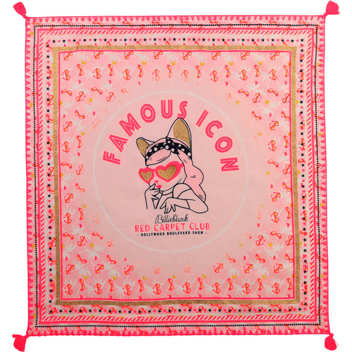Billiblush Famous Icon Cat Scarf