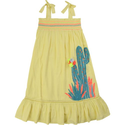 BILLIEBLUSH LONG BEACH DREES WITH CACTUS PRINT