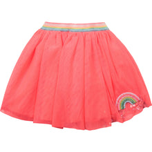 Load image into Gallery viewer, Billieblush Rainbow Patch Tulle skirt