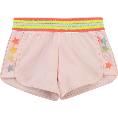 Billieblush Sweat Shorts with Stars