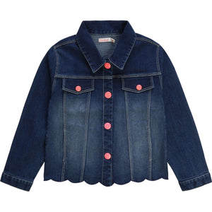 BILLIEBLUSH DENIM JACKET WITH MERMAID TAIL