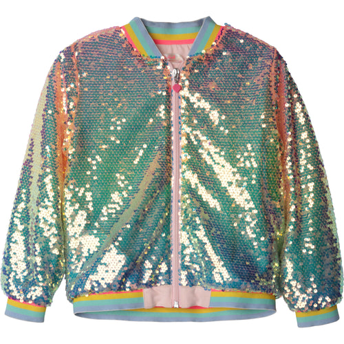 Billieblush Sequin Bomber