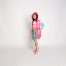 Load image into Gallery viewer, Billieblush Multicolor Transparent Raincoat