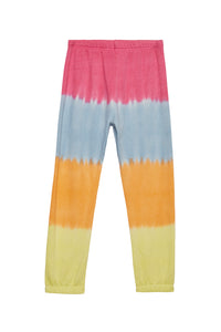 Spiritual Gangster Girls Perfect Sweatpants Sunrise Dip Dye