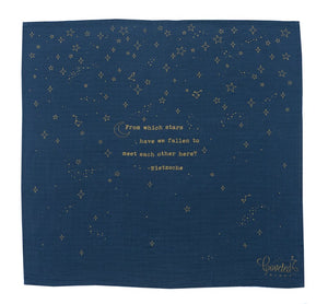 "Swaddle Scarf ""Golden Stars"""
