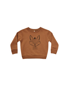 Rylee + Cru Fox Sweatshirt