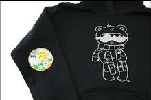 Load image into Gallery viewer, Sweet Art Aspen Retro Patch Hoodie Balck