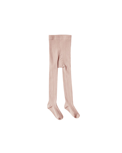 Rylee + Cru solid ribbed tights