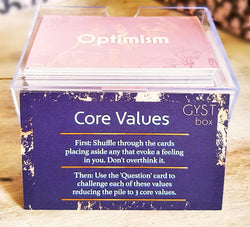 Core Values Card Deck