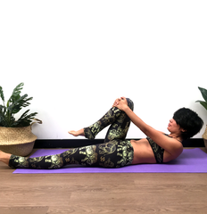 pelvic floor knee raises