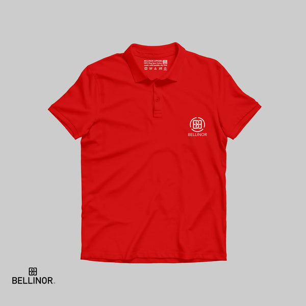 Bellinor Circled Logo Polo T-shirt