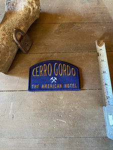 American Hotel Cerro Gordo Patch (Blue)