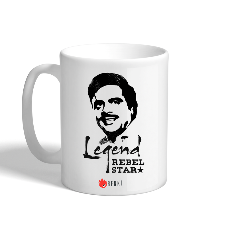 Legend Rebel Star| Ambareesh Mug - Benki Store