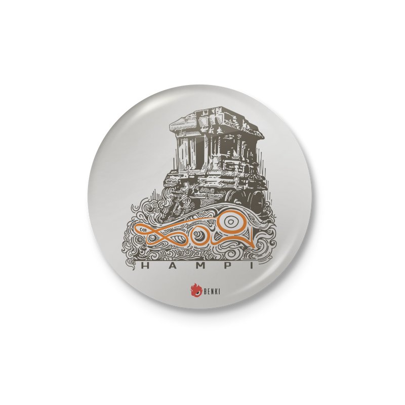Hampi Badge | Nammooru Series Badge - Benki Store