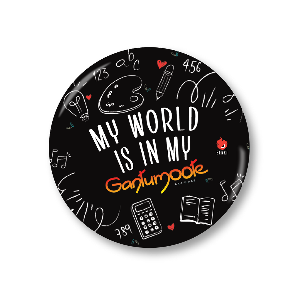 My World | Gantumoote Badge - Benki Store