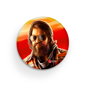 KGF | Rocking Star Yash Badge - Benki Store