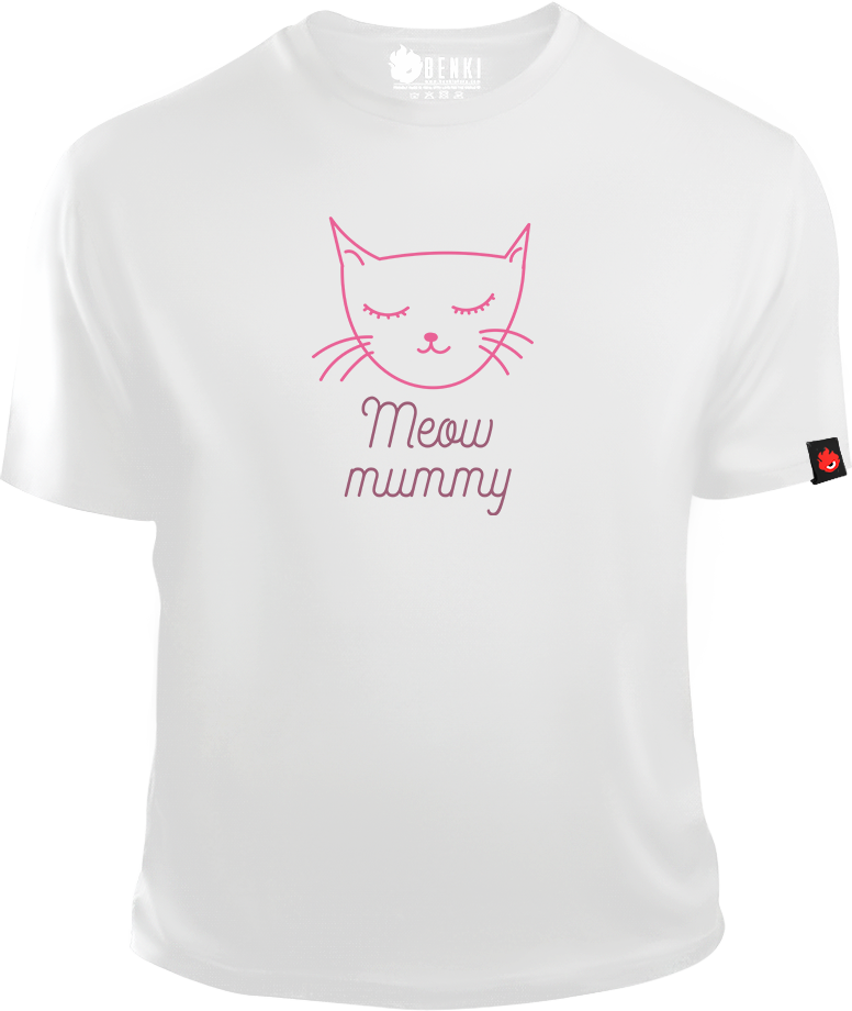 Meow Mummy TShirt | Cat TShirt | Animal Series - Benki Store