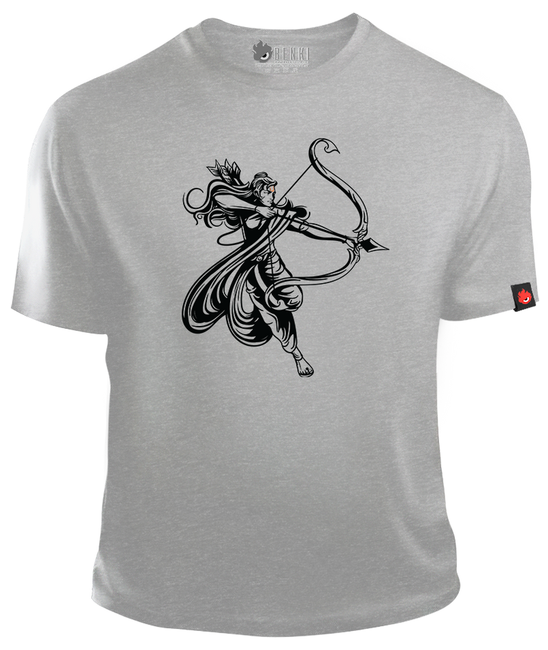 Lord Rama TShirt | Great Warrior Rama TShirt | Divine Series