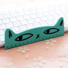 Load image into Gallery viewer, Fresh Candy Color Wooden Ruler