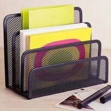 Load image into Gallery viewer, Holder Metal Mesh File Box