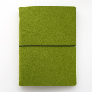 Fabric note book loose leaf