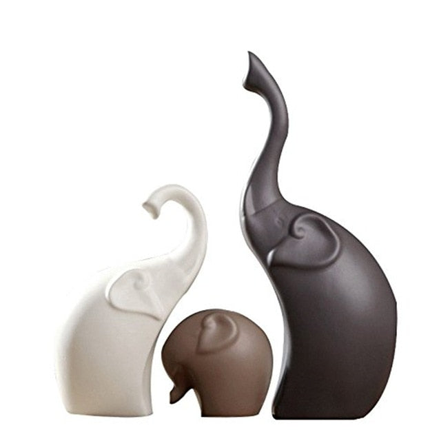 Europe Ceramics Elephant   Handicrafts
