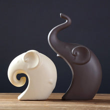 Load image into Gallery viewer, Europe Ceramics Elephant   Handicrafts