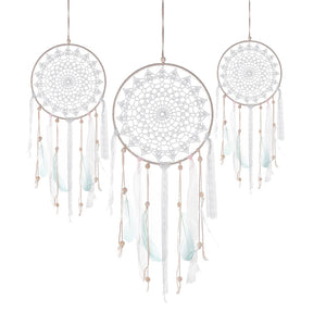 Large Doily Dream Hanging  Ornament