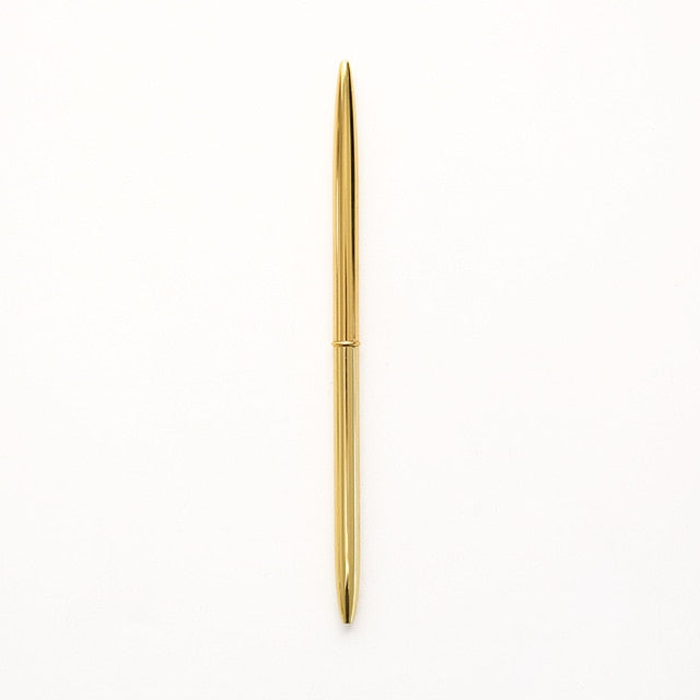 0.7mm Metal Luxury Gold Pens