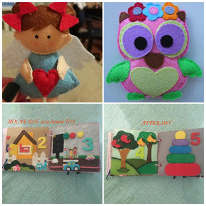 Handicraft DIY Doll Pattern