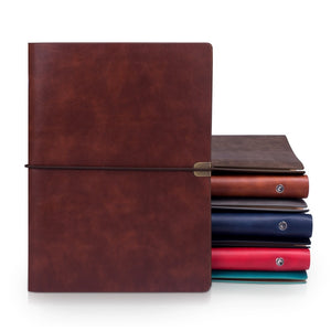 Leather note notebook