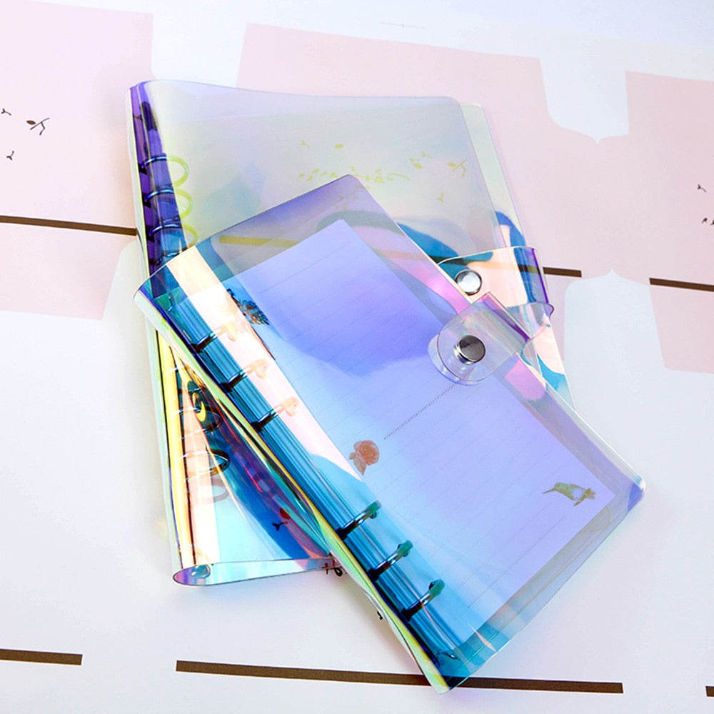 PVC Rainbow laser Notebook