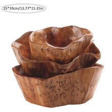 Load image into Gallery viewer, Household  Wood Multi-grain Bowl