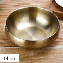 Load image into Gallery viewer, Double thick stainless steel bowl