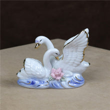 Load image into Gallery viewer, Romantic Swan Lovers Handicraft