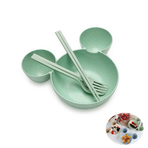 Wheat material Cute Cartoon  bowl