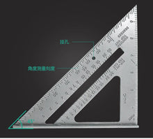 Load image into Gallery viewer, Triangle Rule 90 Degree Ruler