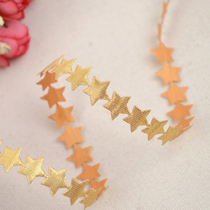 Colorful star satin handicrafts