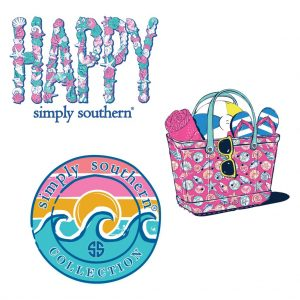 Simply Southern 3-Pack Assorted Stickers