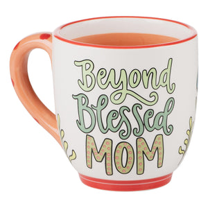 BEYOND BLESSED MOM MUG