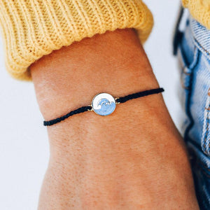 Make Waves Gold Bracelet