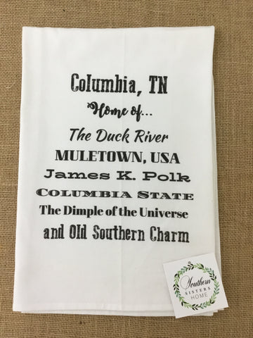 Columbia TN Home T-Towel