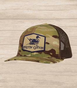 Pintail Patch Camo Coyote Brown Hat