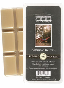 Afternoon Retreat Wax Bar