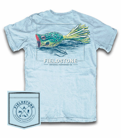 Fieldstone Soothing Blue Frog T-Shirt