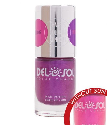 Del Sol Color Changing Nail Polish (Foxy)