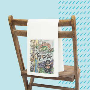 Spirit Town Knoxville Tea Towel
