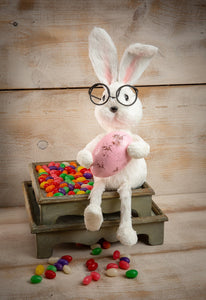 "11"" Bunny with Glasses"